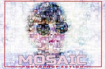 Mosaic Photoshop Action 3512234 2