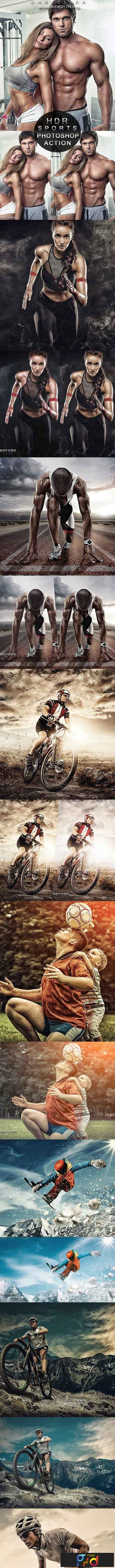 PRO Sports Photoshop Action 23035345 1