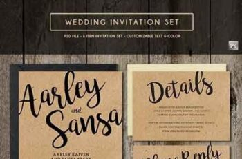 Wedding Invitation Set 16959297 2