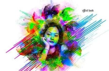 Premio Watercolor Photoshop Action 3235422 5