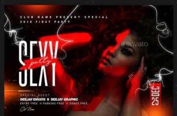 Ladies Night Party Flyer 22827389 5