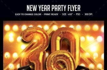 New Year Party Flyer 22827145 6