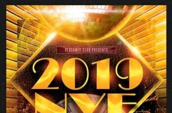 NYE Party Flyer 22828046 3