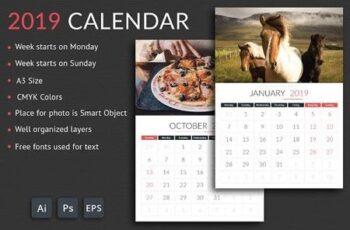 2019 Calendar 3078555 5