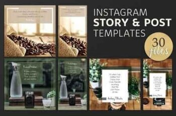 Instagram Post & Story Templates 2878743 6