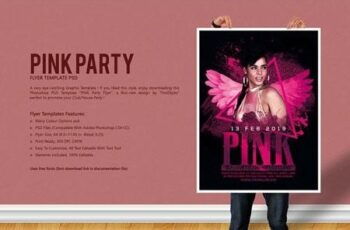 Pink Party Flyer 2879881 5