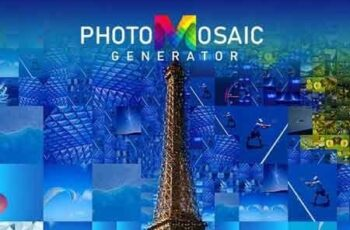 PhotoMosaic Generator - Photoshop Extension 23019920 4