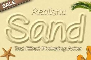Sand Text Effect Photoshop Action 3237093 5