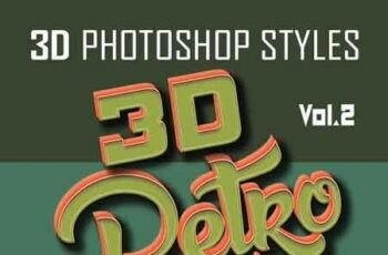 20 3D Retro Photoshop Styles asl Vol.2 22813719 4