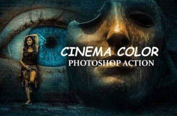 Cinema Color - Photo shop Action 3232748 4