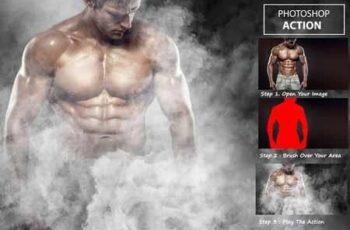 Smoke Effect - Photo shop Action 3211481 4