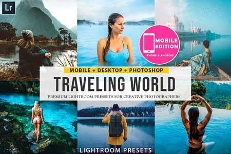 Traveling lightroom presets 3304520 - FreePSDvn