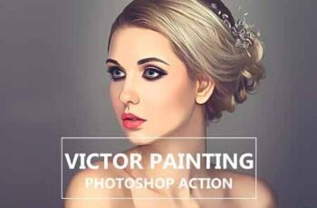 Victor Painting - Photo Shop Action 3211605 4