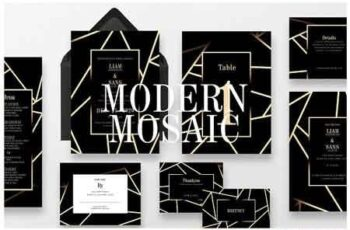 Modern Mosaic Wedding Suite Ac 127 3187490 3