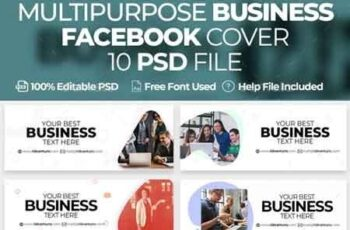 Multipurpose Business 10 Facebook Cover 22805649 2