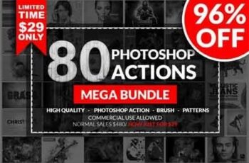 Photoshop Action Mega Bundle 3516953 2
