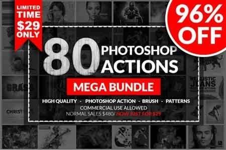 Photoshop Action Mega Bundle 3516953 - FreePSDvn