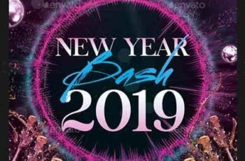 New Year Bash Flyer 22837212 4