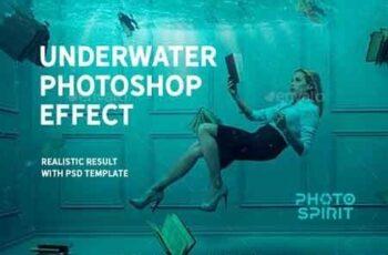 Underwater Photoshop Effect 23023459 10