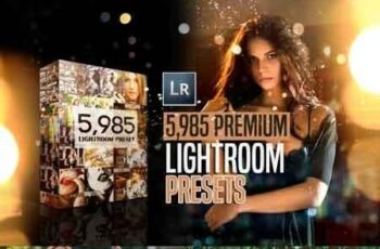 Mega bundle 5,900+ Premium Lightroom Presets 43303 3