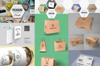 79 Amazing Packaging Mockups Bundle 2984705 2