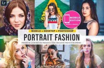Portrait fashion Lightroom Presets 3303645 6