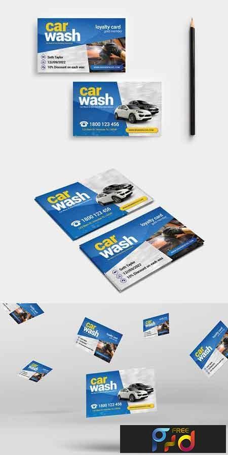 Car Wash Business Card Template 3195548 1