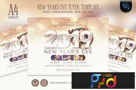 New Years Eve Flyer Template 3192429 1