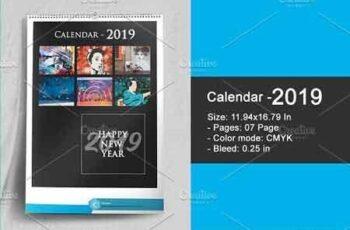 Wall Calendar 2019 - V16 3051292 7