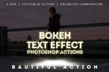 Bokeh Text Effect Photoshop Actions 3323554 7