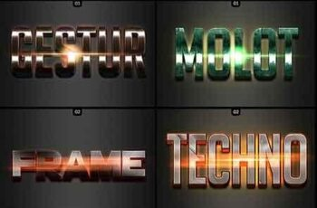 50 3D Text Effects - Bundle Vol 03 22845758 5