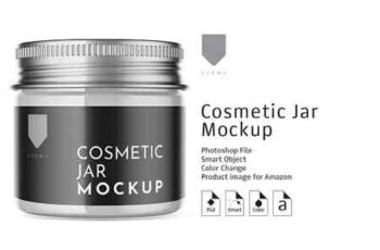 Cosmetic Glass Jar Mockup 3 3151514 6