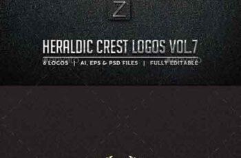 Heraldic Crest Logos Vol.7 10578758 5