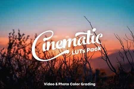 Cinematic LUTs Pack 3335433 - FreePSDvn