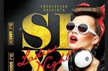 Ladies Night Flyer 22818348 7