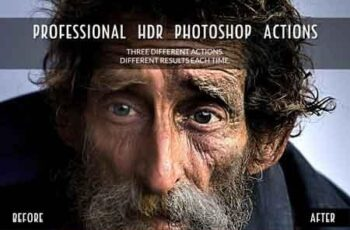 3 Professional HDR Photoshop Actions 3520085
