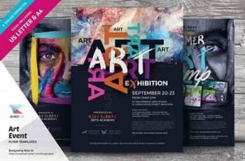 Art Event Flyer Templates 2901672 7