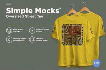 Oversized Street Tee Mockup 3169710 2