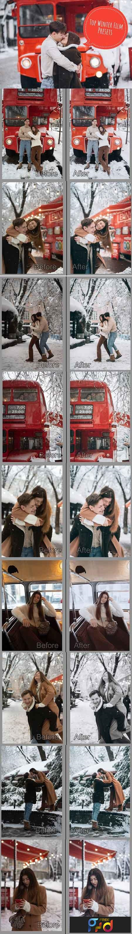 TOP10 Winter Film Lightroom Presets 3297983 1