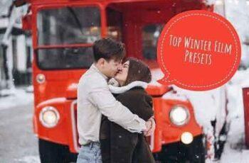 TOP10 Winter Film Lightroom Presets 3297983 2