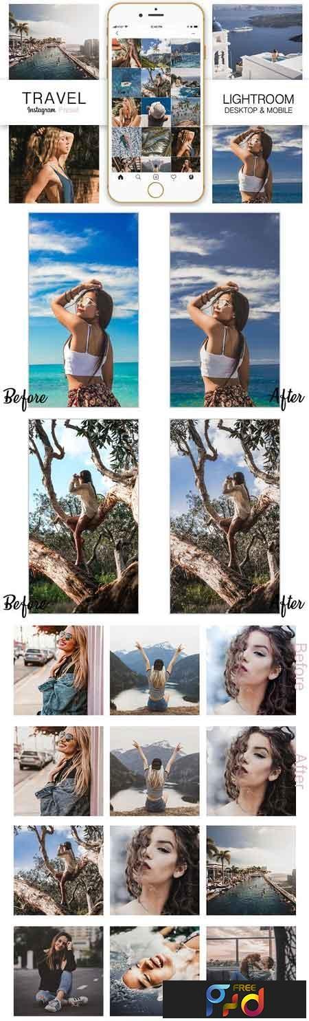 Travel Instagram Blogger Preset 3292933 1