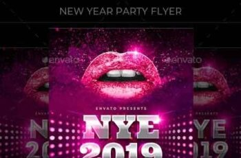 New Year Party Flyer 22799379 4