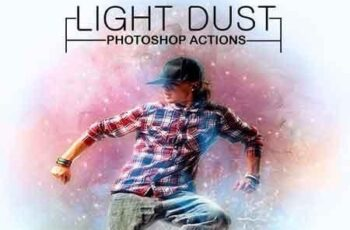 Light Dust Photoshop Actions 23099876 7