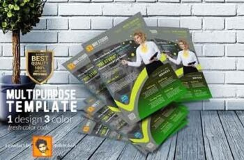 Creative Multipurpose Flyer 2944357 10