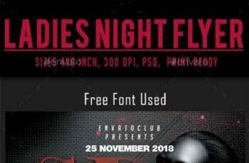 Ladies Night Flyer 22878214 3
