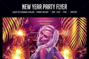 New Year Party Flyer 22878168 8