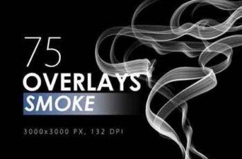 75 Smoke Overlays 7