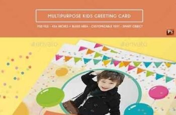 Multipurpose Kids Greeting Card 17676698 7