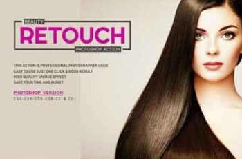 Beauty Retouch Photoshop Action 3521091 2