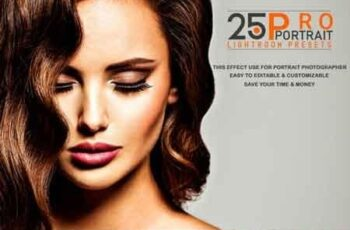 25 Pro Portrait Lightroom Presets 3522235 3